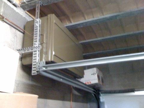 pseudo mezzanine dans garage. Black Bedroom Furniture Sets. Home Design Ideas